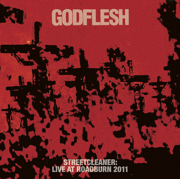 Godflesh	Streetcleaner Live at Roadburn 2LP vinyl black/red/white