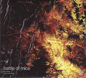 Jesu / Battle Of Mice Split vinyl LP Robotic Empire  RARE / OUT OF PRINT