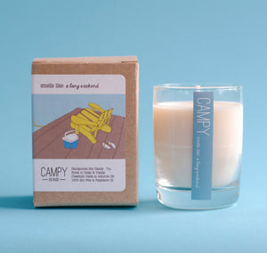 Campy Home Candles: A Long Weekend
