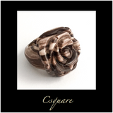 Statement Ring Size : US 6.5, Jasper Solid Rose Ring -  Online Only Offers