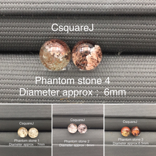 925 Sterling silver stud earrings - Phantom