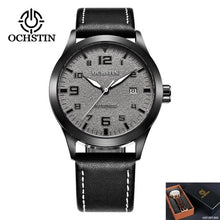 Load image into Gallery viewer, OCHSTIN Man Mechanical Pilot Wrist Watches For Men Luxury Casual Self Winding Leather Mechanic Male Clock Date relogio masculino