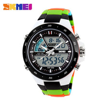 Load image into Gallery viewer, SKMEI Men Sports Watches Male Clock 5ATM Dive Swim Fashion Digital Watch Military Multifunctional Wristwatches relogio masculino