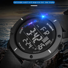 Load image into Gallery viewer, SYNOKE Men Watch Multi-Function 50M Waterproof LED Double Action Sports Watches Digital Watch 2019 Relogio Sport Masculino