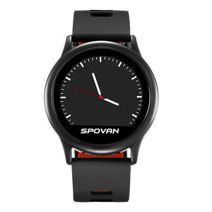Spovan 2019 LCD Smart Sport Watch for Man Silicone Fitness Bluetooth Smart Wristwatch Military Digital Health Clock Fashion`
