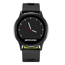 Load image into Gallery viewer, Spovan 2019 LCD Smart Sport Watch for Man Silicone Fitness Bluetooth Smart Wristwatch Military Digital Health Clock Fashion`