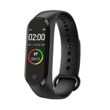 Load image into Gallery viewer, Hot New M4 Smart Sports Blood Pressure Heart Rate Monitor With Watch Men And Women Monitor Multi-Function Waterproof Bracelet