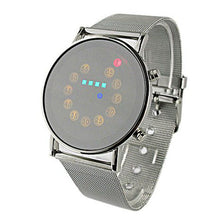 Load image into Gallery viewer, LED Light Men Wrist Watch Stainless Steel Fashion For Special Charming Style Wholesale reloj depotivo hombre часы мужские