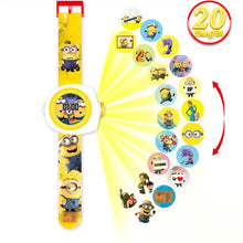 Load image into Gallery viewer, 3D Projection Minnie Unicorn Kids Watches Children Toy LED Digital Kid Boys Girls Clock Watches Spiderman Child Watch