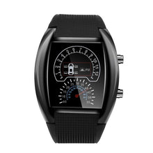 Load image into Gallery viewer, 2019 New Fashion Creative Men's Fashion LED Light Flash Turbo Speedometer Sports Car Dial Decorative Meter Watch Zegarek #D