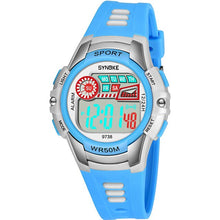 Load image into Gallery viewer, SYNOKE Kids Watches Digital Watch Anti-Shock 3Bar Waterproof Outdoor Sport Led Light Children Clock Fashion Relogio Masculino