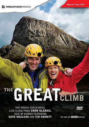 Great Climb 3-disc DVD Dave MacLeod & Tim Emmett - Overhang Ltd