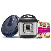 Pack familiar: Instant Pot Duo 60 + Robovac 25C + Libro 75 recetas