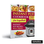 Libro Instant Pot Cookbook en españoI