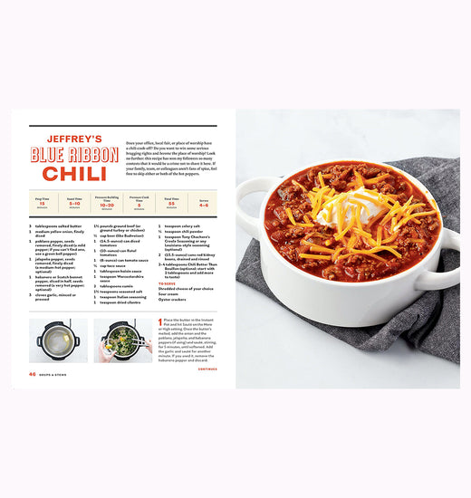Libro The Step-by-Step Instant Pot Cookbook (en inglés)