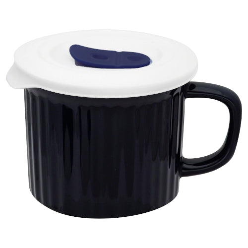 Mug Pop-in azul con tapa 591 ml