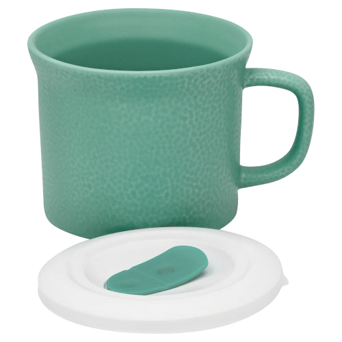 Mug Pop-in celeste con tapa 591 ml