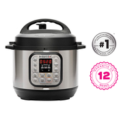 Pack olla Instant Pot Duo mini + tapa de vidrio