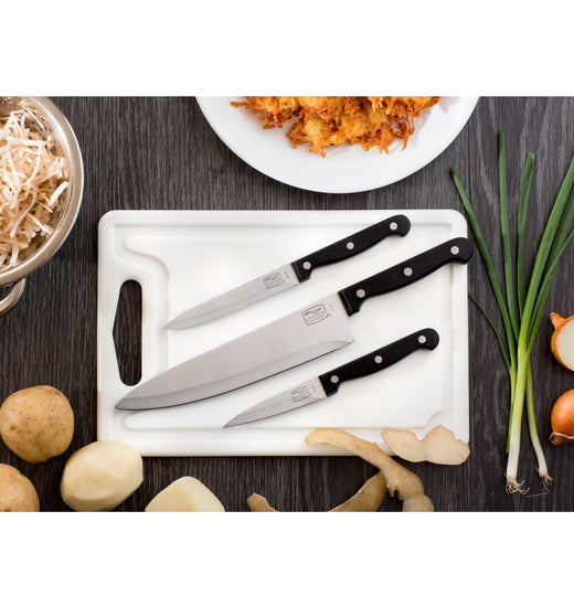 Set de 3 cuchillo Essentials Chicago Cutlery