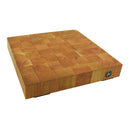 "12"" X 12"" X 2"" Butcher Block Footed End Grain"
