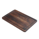 "18"" X 12"" CUTTING BOARD W/ DRIP RING"