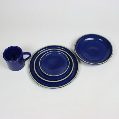 BROOKLINE American Blue Dinner Set for Four
