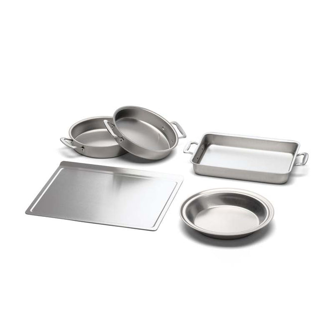 5-Piece Stainless Steel Bakeware Set
