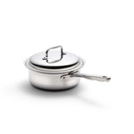 Stainless Steel 2 Quart Saucepan with Cover