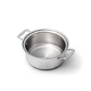 Stainless Steel 4 Quart Stockpot with Cover