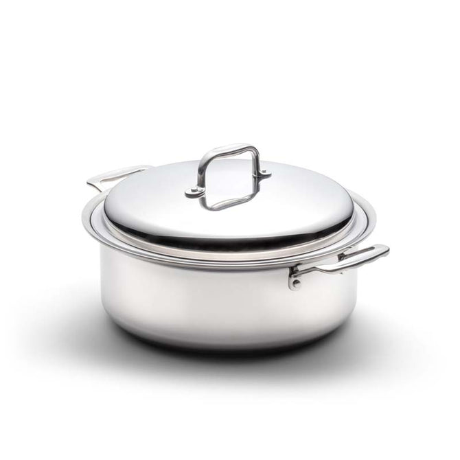 6 Quart Stainless Steel Stockpot with Cover