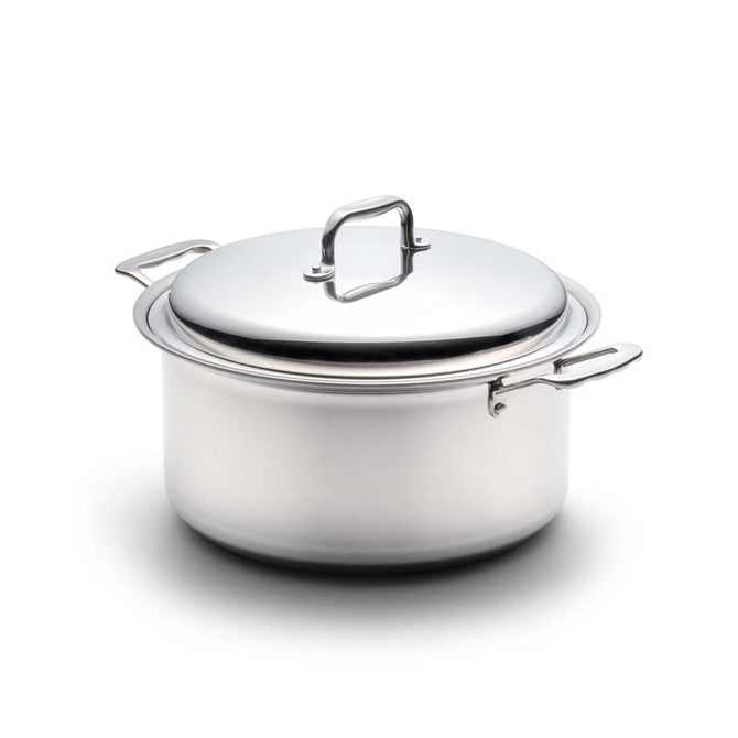 Stainless Steel 8 Quart Stockpot with Cover