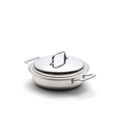 Stainless Steel 2.3 Quart Casserole with Cover