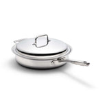 Stainless Steel 3.5 Quart Sauté Pan with Cover