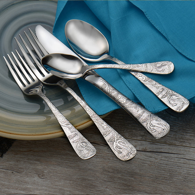 Old Harbor 5pc place setting (Sherrill Home collection)