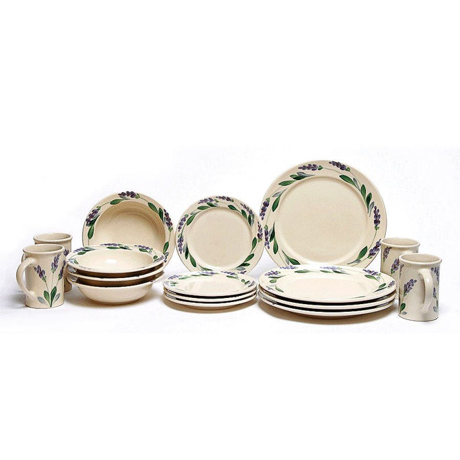 Lavender Classic Dinner Plate Set for Four