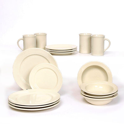 Pearl Classic Dinner Plate Set for Four