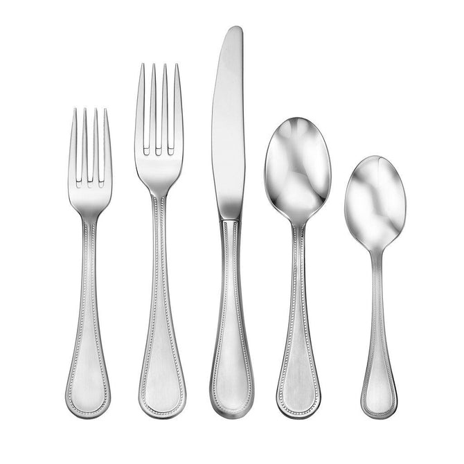Satin Pearl 5pc place setting (Heritage collection)