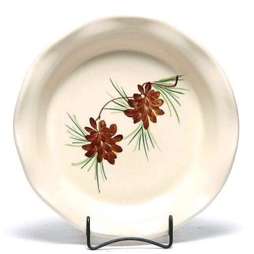 Pinecone Frilly Pie Plate