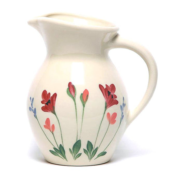 Red Poppy Iced Tea Pitcher