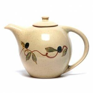 Tuscan Olive Teapot