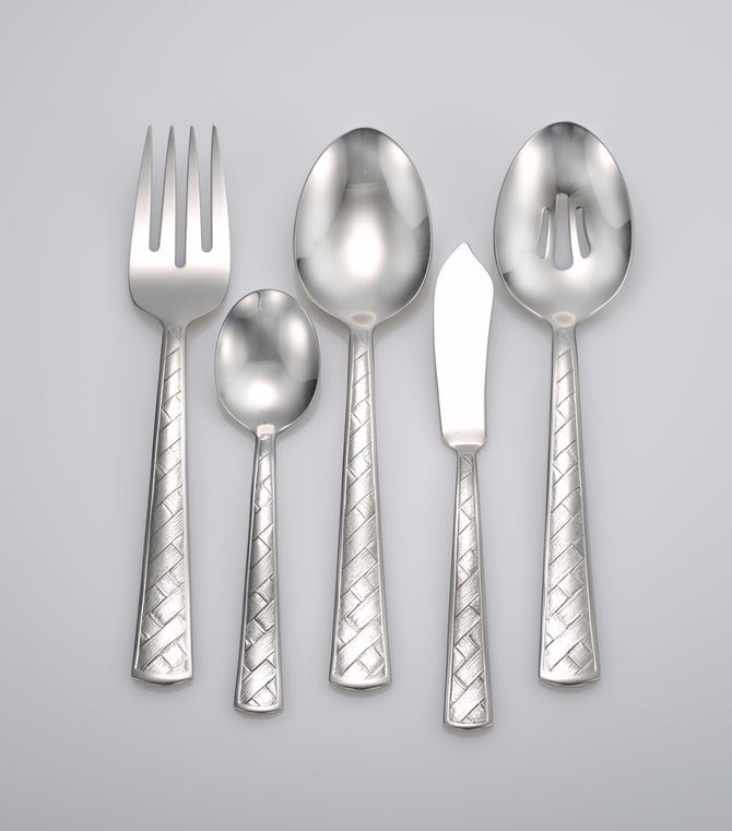 Weave serving set (Heritage collection)