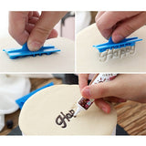 6pcs/set Handwriting Fondant Cake Embosser