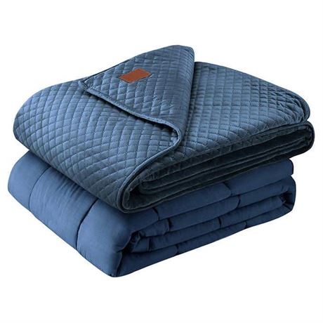 "Pendleton Weighted Blanket 48""x72"" (15lb) (Blue)"