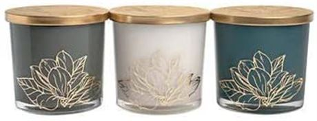 Bellevue Luxury Soy Blend Candle Modern 3-Piece Set Luxury Candles