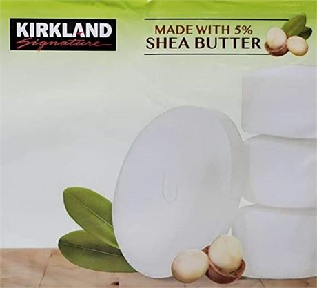 Kirkland Signature Bar Soap with Shea Butter 5 Bars