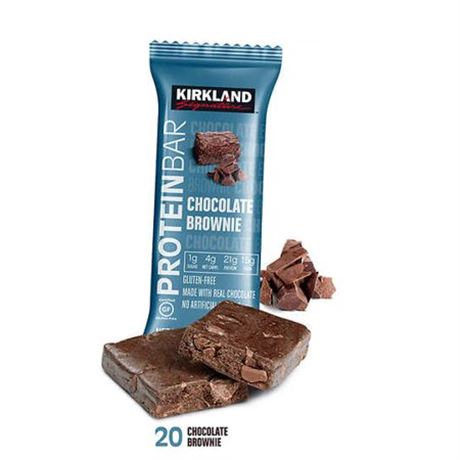 Kirkland Signature Protein Bars, Chocolate Brownie, 10-count