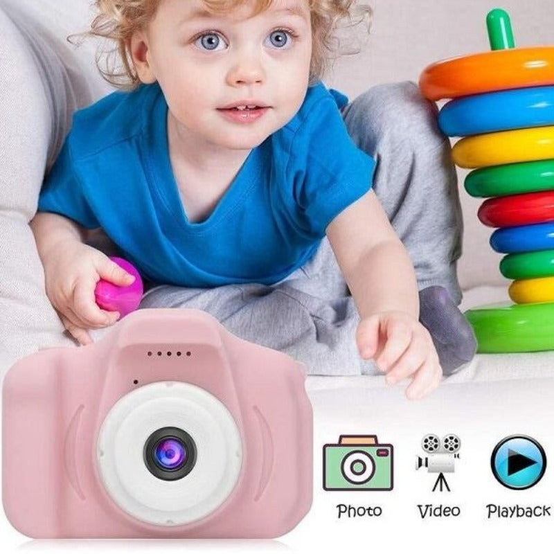 Mini Digital Kids Camera in 3 Colors