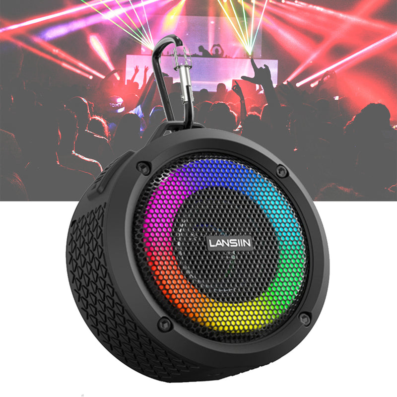 Waterproof Wireless Bluetooth Speaker with LED Lights_6