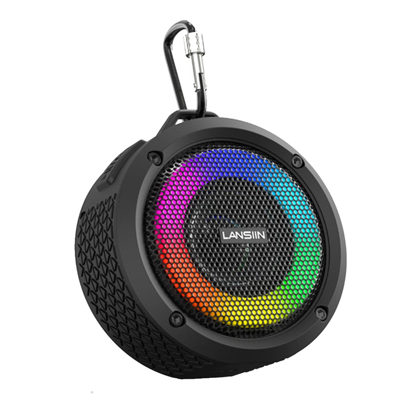Waterproof Wireless Bluetooth Speaker with LED Lights_7