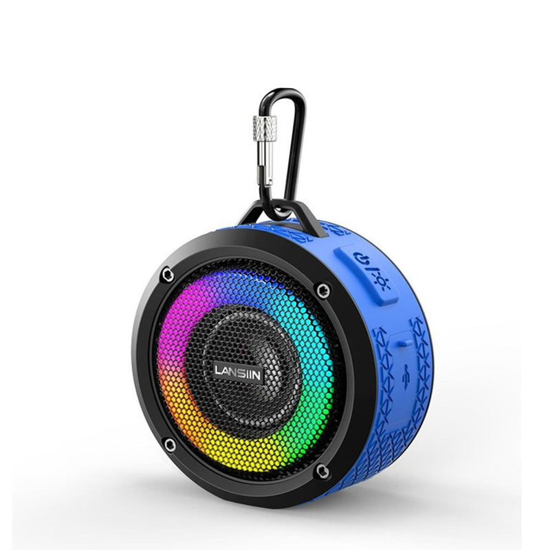 Waterproof Wireless Bluetooth Speaker with LED Lights_10